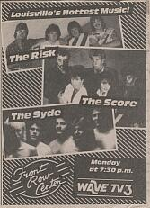 Newspaper ad for The Risk